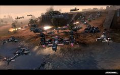End of Nations - MMORTS-Game that really could be interesting and somewhat the first of its kind.