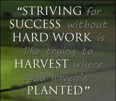 Striving for success without hard work is like trying to harvest where you haven't planted. Hard work is the only key which can unlock the door of success for your #onlinebusiness.  #ThursdayThought #ThursdayMotivation #DigitalMarketing #SEO #InternetMarketing #WebsiteDevelopment #Ranking #WebDevelopment #WebDeveloper #WebsiteDesign