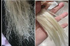 Les façons de réparer vos cheveux abîmés! les résultats sont rapides