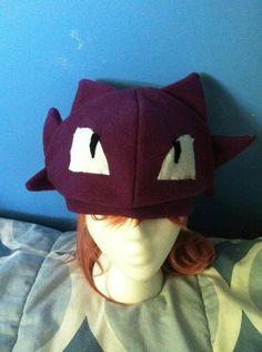Haunter Pokemon Fleece Hat I am so making one