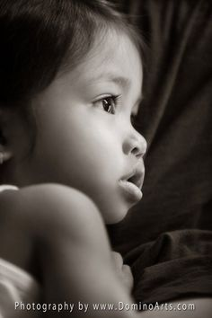 A gorgeous #portrait of a very beautiful little #girl by #DominoArts #Photography (www.DominoArts.com)