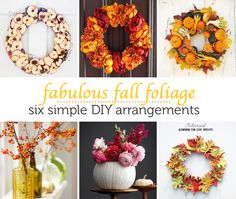 DIY Autumn Arrangements- I like the dried apple wreath Diy Fall Wreath, Fall Diy, Fall Wreaths, Apple Wreath, Fall Projects, Partys, Holiday Fun, Holiday Ideas, Festive