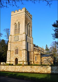 Haselbech church by Baz Richardson, via Flickr