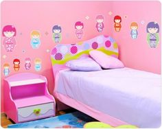 Wall stickers and blog about kawaii