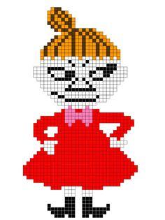 Knitting Charts, Knitting Stitches, Knitting Patterns, Crochet Patterns, Baby Knitting, Cute Cross Stitch, Beaded Cross Stitch, Cross Stitch Embroidery, Moomin