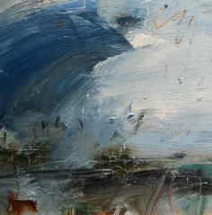 louise balaam  Scottish light, North-West coast       Oil on panel  30 x 30cm