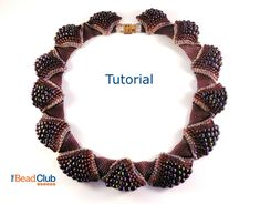 Peyote Stitch Necklace Pattern, Seed Bead Necklace Pattern, Wavy Necklace, Beading Pattern Instant Download PDF- Ruffled Collar Tutorial by TheBeadClubLounge on Etsy https://www.etsy.com/listing/243175554/peyote-stitch-necklace-pattern-seed-bead