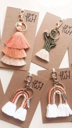 Rope Crafts, Diy Crafts For Gifts, Diy Home Crafts, Teen Crafts, Creative Crafts, Macrame Design, Macrame Art, Macrame Projects, Diy Projects