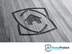 Home Protect Security Logo Template