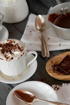 Thick Spiced Italian Hot Chocolate - The Kitchen McCabe