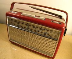 Nordmende Transita Deluxe transistor radio 1961 to by ThatsMyEra, $55.00