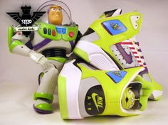 cool! Buzz Light Year Nike sneakers!!