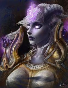 World of Warcraft: Yrel by kachy-mi.deviantart.com on @DeviantArt
