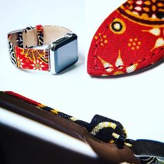 @batikbands in details to highlight the attention to detail and finesse you can only find with bespoke products. #applewatch #batik #batikbands #applewatchsport #applewatchband #clessant #bespoke #artisan #igent #loveit