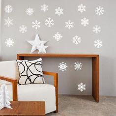 Adesivo Murale Fiocchi di Neve   Stickers Murali