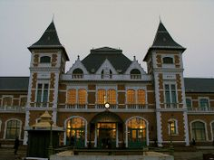 Tisza Railway Station . Miskolc, Hungary