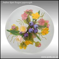 paperweight - Andrew Byers double sided bouquet