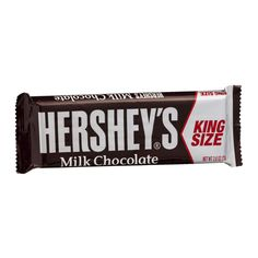 I'm learning all about Hershey's Milk Chocolate Bar King Size at @Influenster!