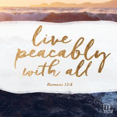 blessed are the peacemakers | IF:Equip