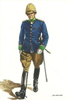 Spain; Milicia Voluntaria de Ceuta, Officer, 1913 by Salax