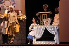 Image result for beauty and the beast musical enchanted objects costumes