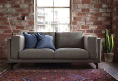 Our NOCKEBY series is made from heavy, durable fabric that is yarn-dyed. The removable cover makes it easy to keep clean or change.