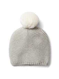 22833eaa817 pom pom knit baby hat Baby Hats Knitting