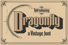 Dragonfly by Art And Sign Unlimited on @creativemarket