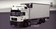 Euro Truck Simulator 2 MAN F2000 BDF Truck - Tır