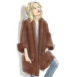 Modèle veste au crochet Femme