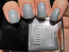 Lady Muck by Butter London - neutral, slightly edgy yet modest blue based gray