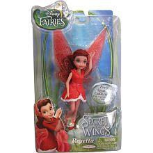 Disney Fairies 4.5 inch Secret of the Wings Small Doll - Rosetta