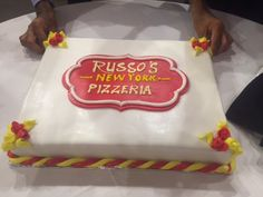 Russo's is now open in Dalma Mall! Chef Anthony made it all the way to Abu Dhabi to celebrate the grand opening event!