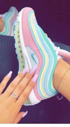 pin↠juliatops vsco↠juliatops pin↠juliatops vsco↠juliatops S. - pin↠juliatops vsco↠juliatops pin↠juliatops vsco↠juliatops Source by sneakers Cute Nike Shoes, Nike Air Shoes, Sneakers Nike, Rainbow Sneakers, Sneakers Workout, Nike Air Max, Pink Nike Shoes, Colorful Sneakers, Rainbow Shoes