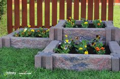 Love the idea of a raised bed garden, but don't enjoy the work that comes with it? The Lexington™ Planter Kit is a unique, simple, inexpensive, and solid alternative that makes gardening fun and easy, while enhancing any landscape. - CLICK the image to view the Lexington™ website!