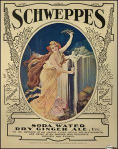 900_Art nouveau poster for Schweppes in 1908.jpg 900×1,134 pixels