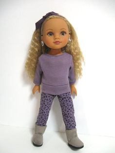 Hearts for Hearts Dolls Its Cold by 123MULBERRYSTREET on Etsy