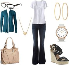 """Spring Work Outfit"" by annekesguidetostyle on Polyvore"