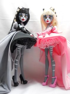 Handmade Monster High Ever After High doll clothes by LovelyWoods