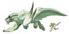 Monster Hunter 3 -.Barioth Concept