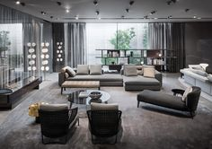 Milan furniture design news: Introducing New Minotti 2015 collection Living Room Modern, Living Room Interior, Home Living Room, Living Room Furniture, Living Room Designs, Living Room Decor, Contemporary Interior, Modern Interior Design, Interior Architecture
