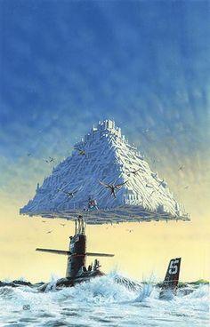 PETER ELSON - art for The Winged Man - A. E. van Vogt & E. Mayne Hull - 1977 Sphere Books