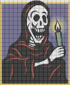 COSTURAS STEPHANY : Patrones De Punto de Cruz del Dia de los Muertos