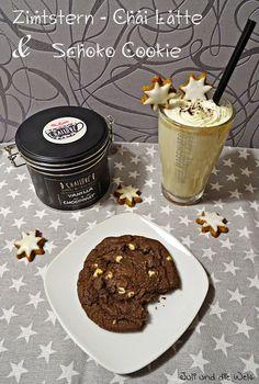 Zimtstern - Chai Latte & Schoko Cookies / http://juli-und-die-welt.blogspot.de