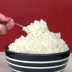 How to Cook Perfect Rice on the Stove - Asiatische Kochrezepte - Rice Recipes White Rice Recipes, Rice Recipes For Dinner, Vegetarian Recipes Dinner, Mexican Food Recipes, Breakfast Recipes, Sticky White Rice Recipe, Chinese White Rice Recipe, White Rice Dishes, Cooked Rice Recipes
