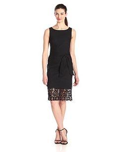 Bailey 44 Women's Impala Lace Hem Dress, Black, Medium Bailey 44 http://www.amazon.com/dp/B00R4O1VO4/ref=cm_sw_r_pi_dp_L2wfvb0F886HV