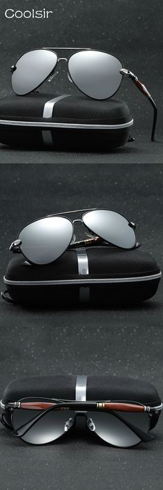 2017 Hot Vintage Metal Frame Pilot Polarized Sunglasses Men Brand Design Driving Travel Fashion Classic lentes de sol hombre