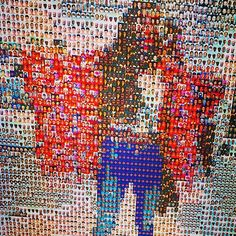 """""""""""We all live with the objective of being happy; our lives are all different, yet the same."""" ~ Anne Frank There are 7 billion others in this world. Interactive Installation, Human Connection, Anne Frank, Reflection, Museum, Live, World, Happy, Art"""