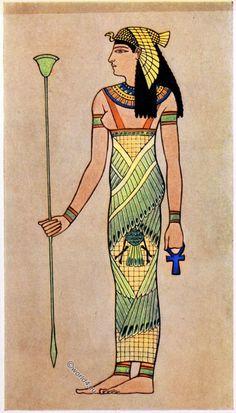 Ancient Egyptian Clothing, Ancient Egyptian Costume, Ancient Egypt Fashion, Egyptian Fashion, Egyptian Jewelry, Egyptian Pharaohs, Egyptian Queen, Egyptian Mythology, Egyptian Goddess