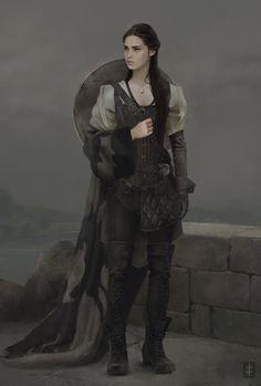 maiden costume concept, Eve Ventrue on ArtStation at https://www.artstation.com/artwork/maiden-costume-concept